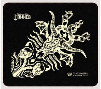 Shadows of the DAMNED Leather Mouse Pad Black