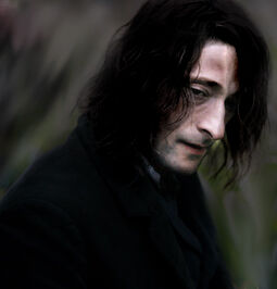"Adrien Brody in ""The Village"" Photoshopped to be used as Severus Snape"