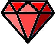 Red diamond (GalladeGamer)
