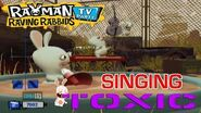 Rayman Raving Rabbids TV Party - Toxic Singing with Keyboard Solo