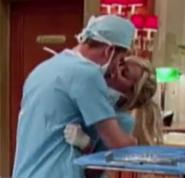 Jeffery and Maddie Kissing