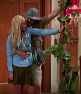 Jeffery and Maddie holding a Vine