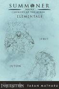 Elemental Demons, Promo