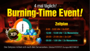 Burning Time Event