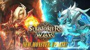 Summoners War New Monster Update! Lightning Emperor & Giant Warrior