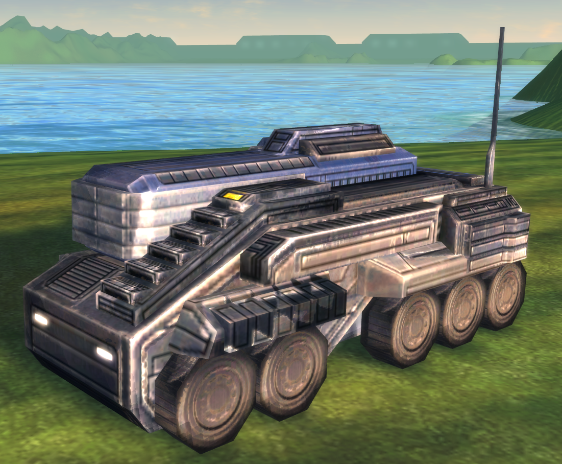 UEF T2 Mobile Missile Launcher