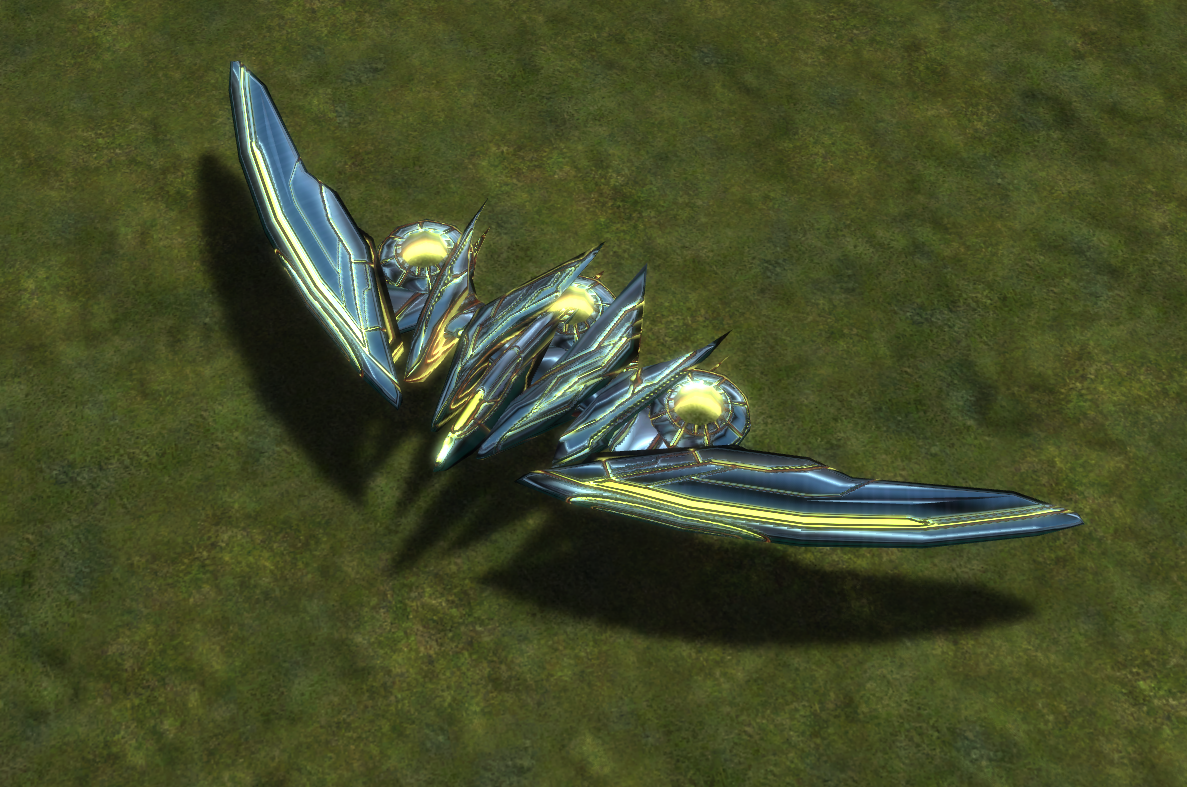 Seraphim T3 Strategic Bomber