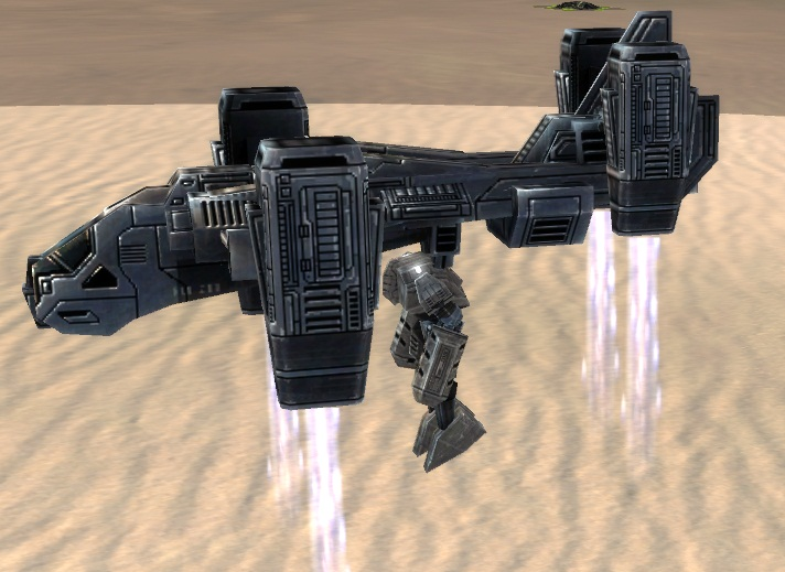 UEF T2 Gunship