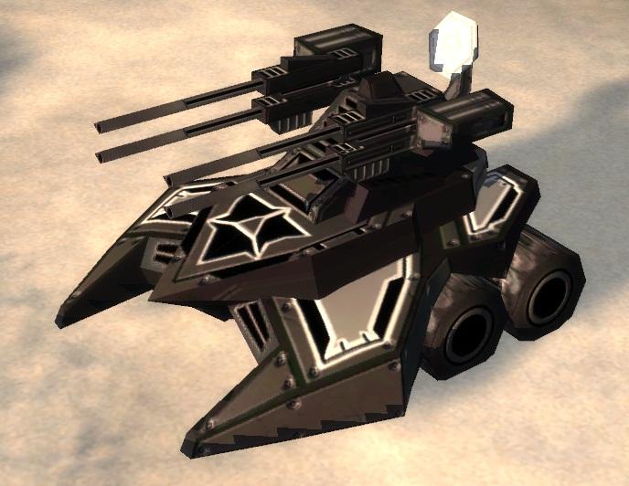 Cybran T2 Mobile AA Flak Artillery
