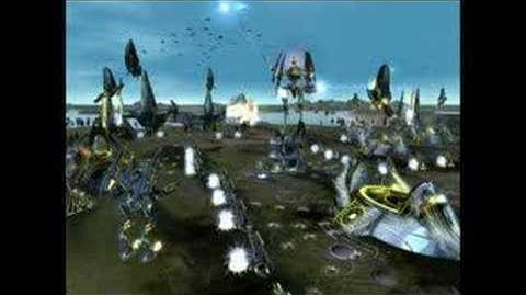Supreme Commander Forged Alliance Cybrans trailer