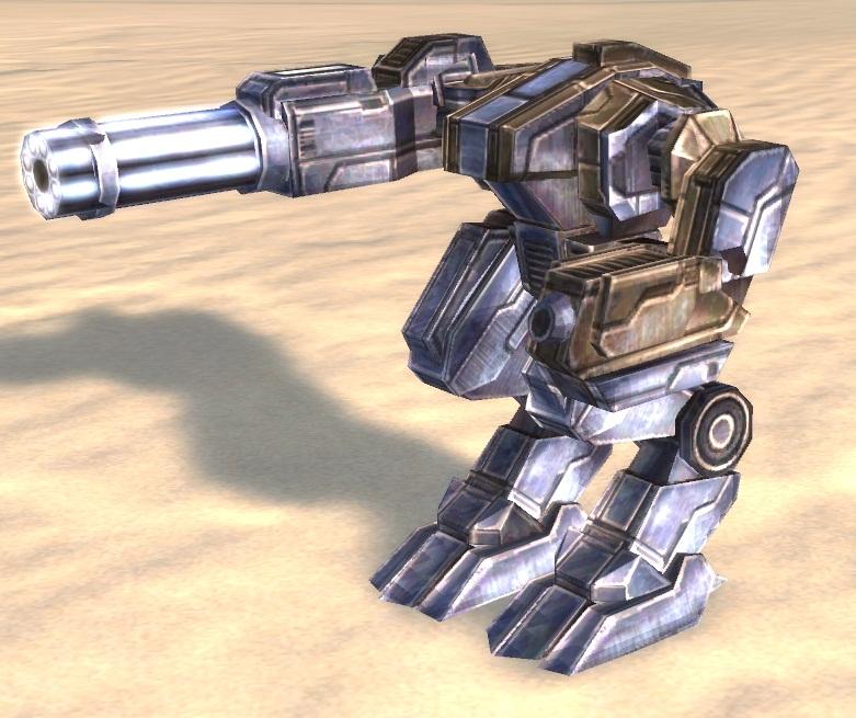 UEF T2 Gatling Bot
