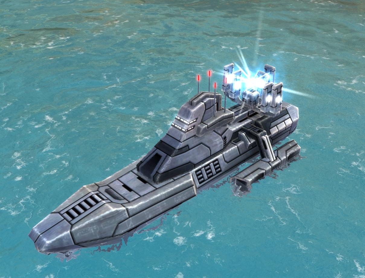 UEF T2 Shield Boat
