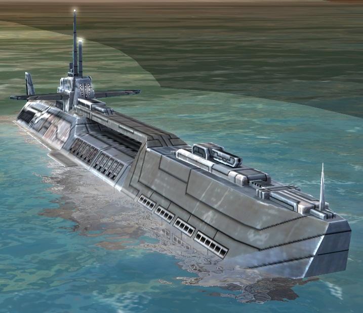 UEF T1 Attack Submarine
