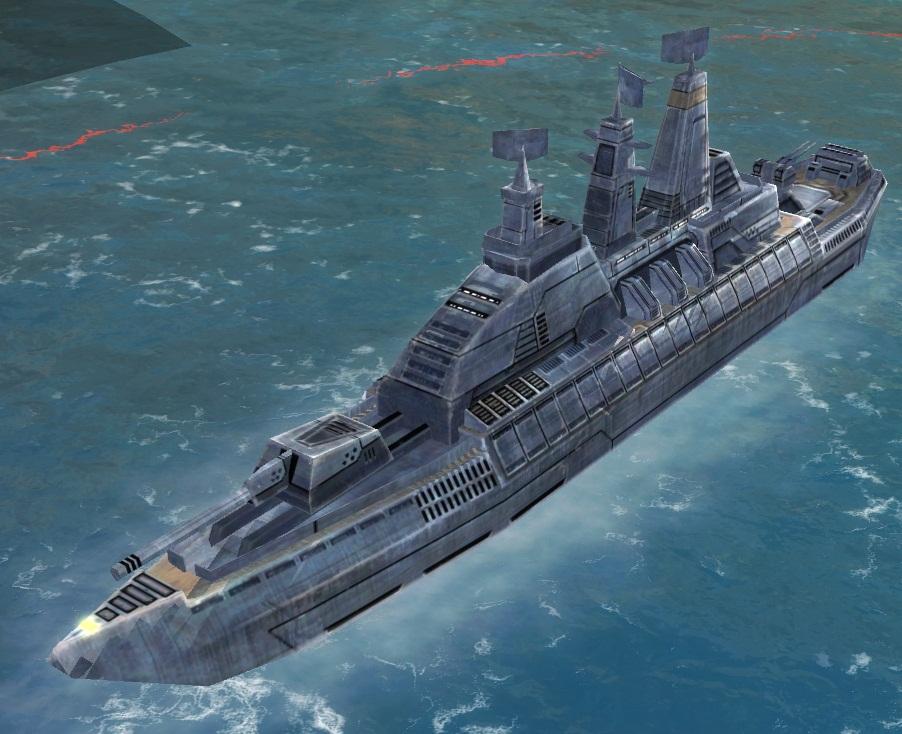UEF T1 Frigate