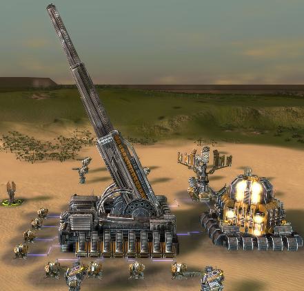 UEF Experimental Artillery