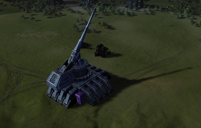 UEF T3 Heavy Artillery Installation