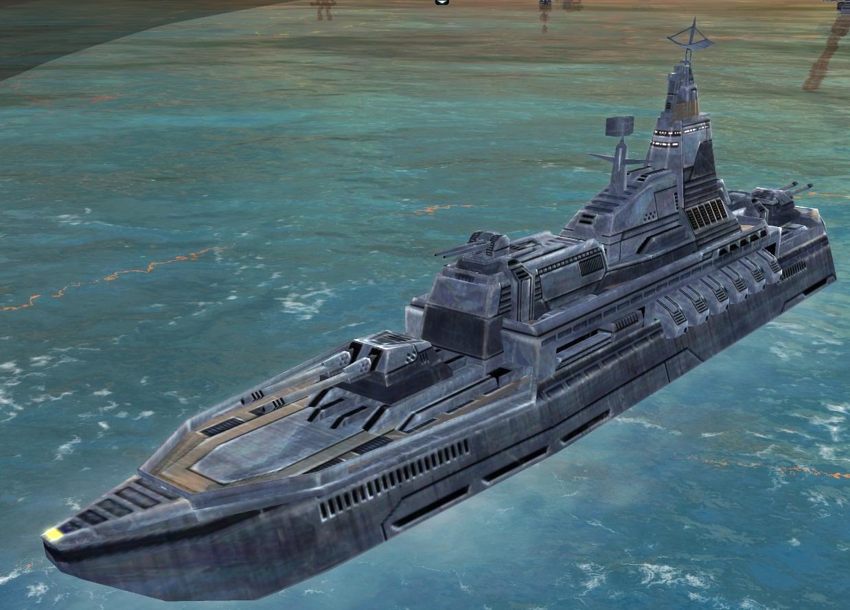 UEF T2 Destroyer