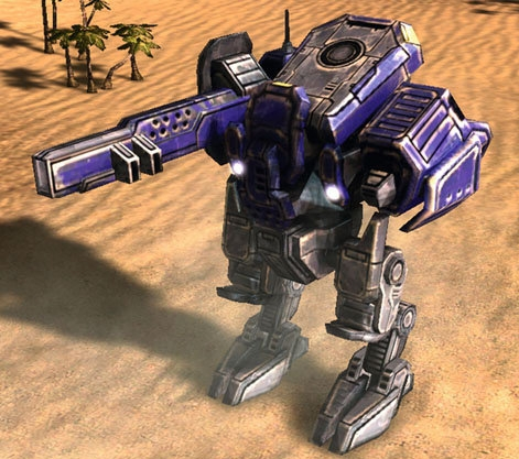 T3 armored assault bot