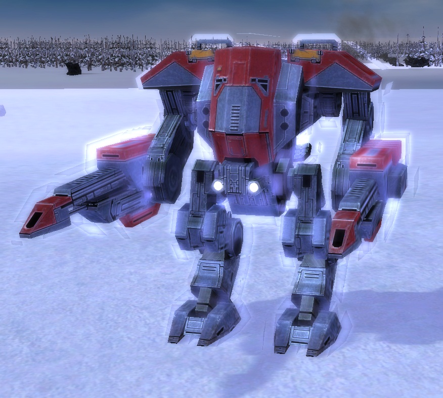 UEF T3 Heavy Assault Bot