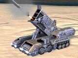 UEF T3 Mobile Missile Platform