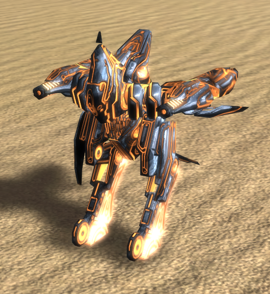 Seraphim T2 Assault Bot