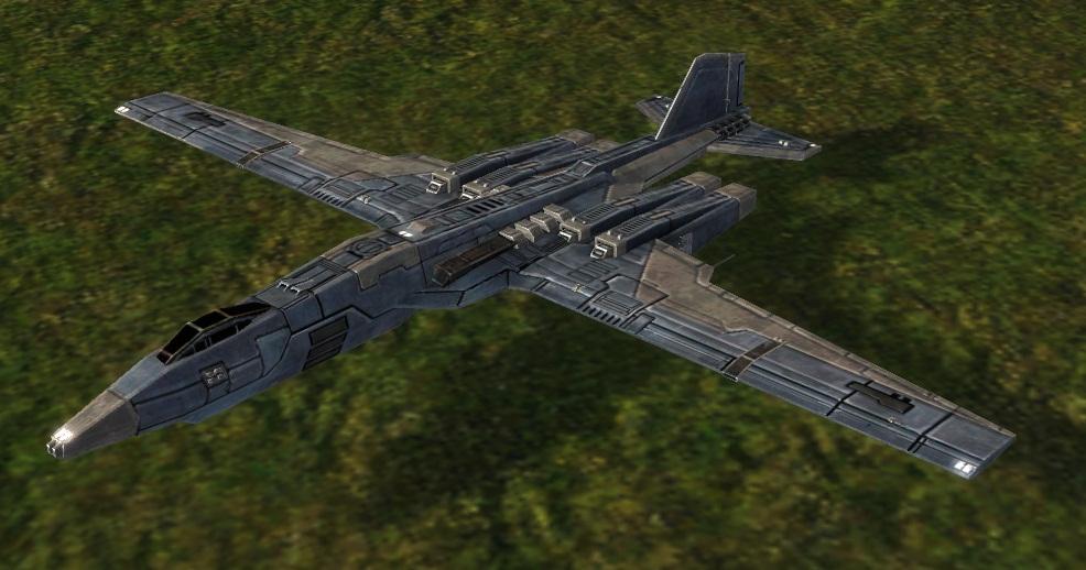 UEF T3 Strategic Bomber