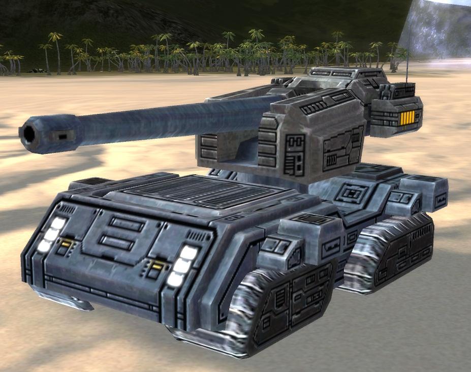 UEF T3 Mobile Heavy Artillery