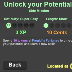 Unlock your Potential! (Side Mission)