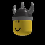 Dark Grey Viking Helm