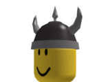 Dark Grey Viking Helm