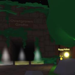 Overgrown Grotto