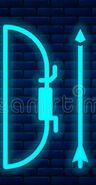 Neon Bow