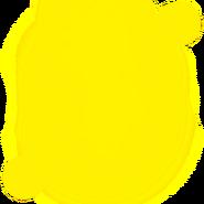 Yellow Fiery Aura