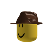 Brown Fedora