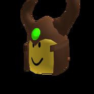 Wooden Warrior Helm