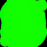 Lime Fiery Aura