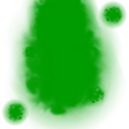 Green Fiery Aura
