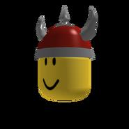 Red Viking Helm