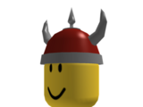 Red Viking Helm