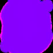 Purple Fiery Aura