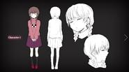 Yume Nikki novela - Personaje 1