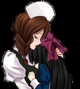 Maria and Aya