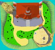 Toads Tool SM64 Castle Grounds Area 1