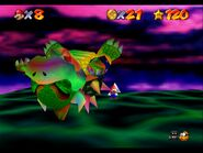 Rainbow Bowser defeated