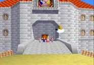 Peach 2 Toads Mario Lakitu N64 ending