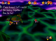 SM64 Bowser in the Sky boss 70 stars defeated 3