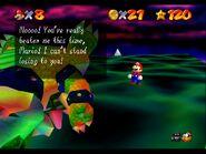Rainbow Bowser defeated text
