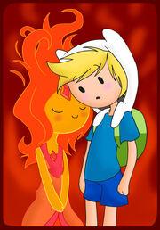 Flame princess and finn by cris uchiha-d4ul6d8.jpg