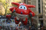 Jett - balloon in Macys Thanksgiving day parade 2017