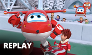 Super Wings - E Spinning Top Tournament - Season 5 Super Pets -Episode 3
